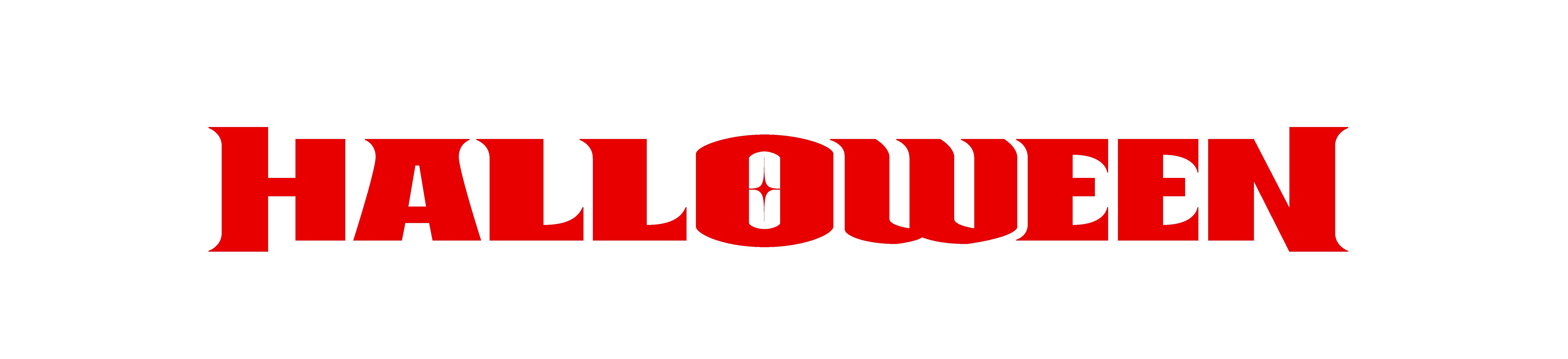 Red creepy font. Halloween.